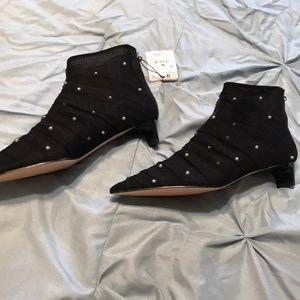 🆕 Women's Zara pearl and lace heels